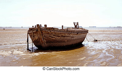 Abandoned ship