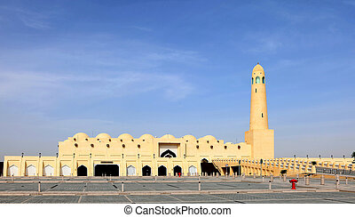 The State Mosque in Doha Qatar