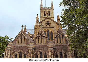 Southwark Cathedral, London - The Southwark Cathedral...