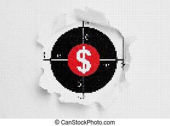 Dollar target concept