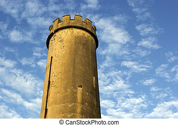 Old tower in Newcastle - Old tower in the center of...
