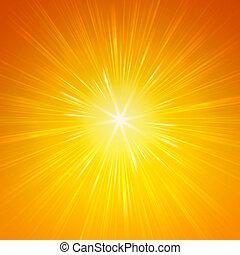 shining yellow lights - yellow star with shining light rays,...