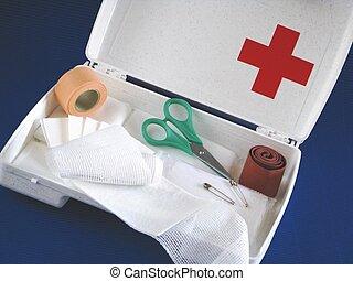 de primeros auxilios, Kit