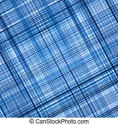 Blue abstract background - Blue color lines grid pattern...
