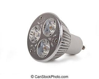 Led light bulb - new led light bulb isolated on white