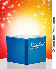 Storybook - illustration of storybook