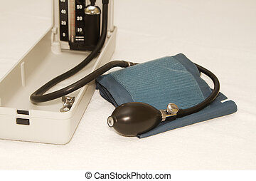 Sphygmomanometer,used to measure blood pressure