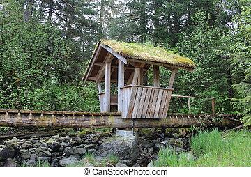 Troll Bridge at Petersburg Alaska
