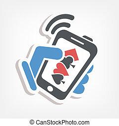 Smartphone betting