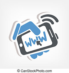 Smartphone connection web