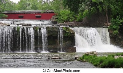 Waterfall and Covered Bridge Loop - Loop features cascades...