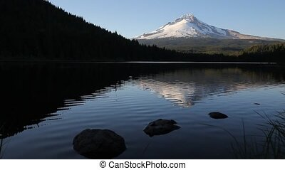 Mt. Hood Reflection Trillium Lake