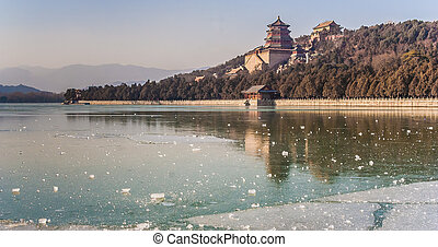 Summer palace of Beijing - Imperial summer palace of Beijing...