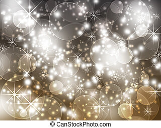 cheerful  background with glitter - Christmas background