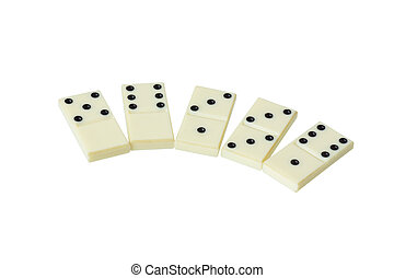 spread out in a number of dominoes - Spread out in a number...