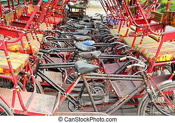 many thishaw on parking - India