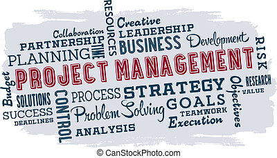 Project Management Business Words - Business presentation...