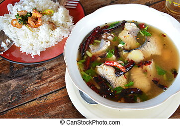 Thai Food Tomyum - Thai cuisine is the national cuisine of...