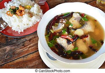 Thai Food Tomyum - Thai cuisine is the national cuisine of...