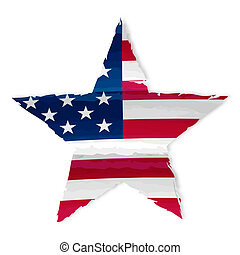 star in USA flag drawing - star in drawing american flag,...