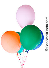 party balloons decoration colorful multicolor