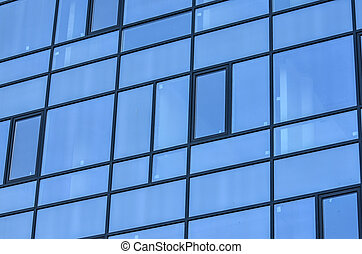 Building with glass windows