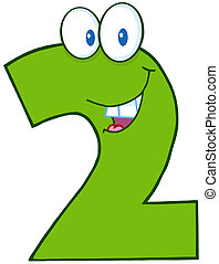 Green Number Two