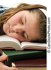 Fell Asleep Studying