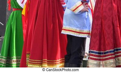 Russian folklore performers - Russian Eastern European folk...