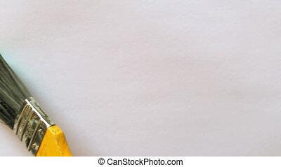 paintbrush painting isolated 07