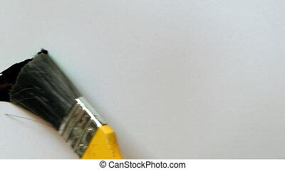 paintbrush painting isolated 08