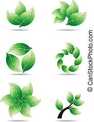 Nature logo  - Vector illustration of Nature logo
