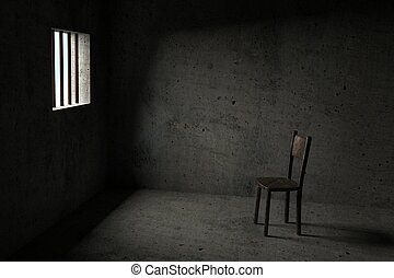 Detained - 3D Prison - Detained - Interior Of A Prison Cell...