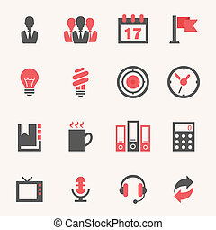 Business. Icon set - Web and Soft Icon set. Vector EPS10.