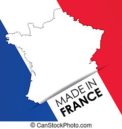 Made in France vector illstration