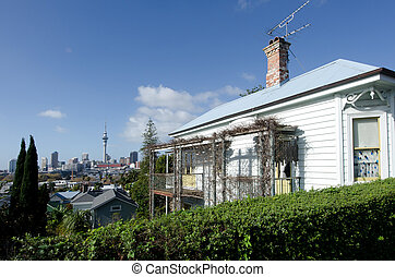 Auckland - Ponsonby - AUCKLAND, NZ - MAY 27:A colonial...