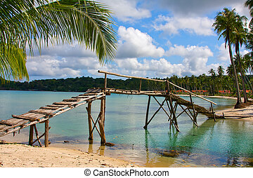 Tropical beach - Beautiful tropical beach in Koh Kood ,...