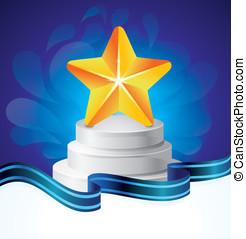 Vector  award concept