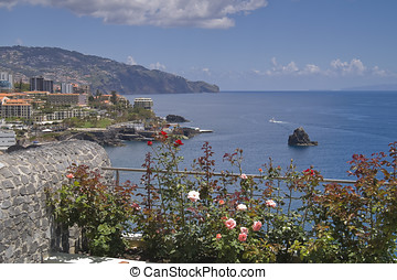 Madeira - View of the Island of Madeira in May