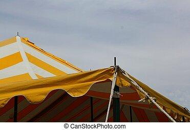 tent corner