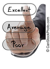 Choosing excellent on customer service evaluation form -...
