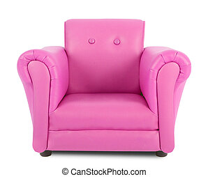 ピンク, 肘掛け椅子