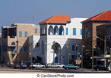 Acre Akko Israel - ACRE, ISR - OCT 07:Old buildings in Acre...