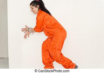 Escaping prisoner