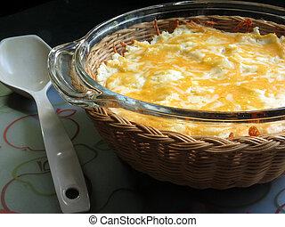 Shepherd's Pie - Homemade Shepherd's Pie, hot from the oven...