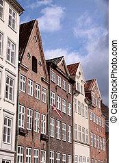 Historic houses in Copenhagen