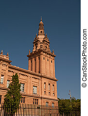 National Art Museum of Catalonia in Barcelona, Spain