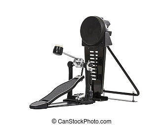 Bass Drum Pedal Isolated