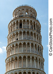 Top of Pisa Tower