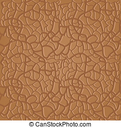 brown seamless leather pattern